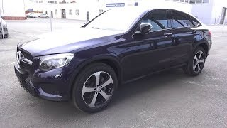 2017 Mercedes-Benz GLC 220d 4Matic Coupe  (C253). Start Up, Engine, and In Depth Tour.. MegaRetr
