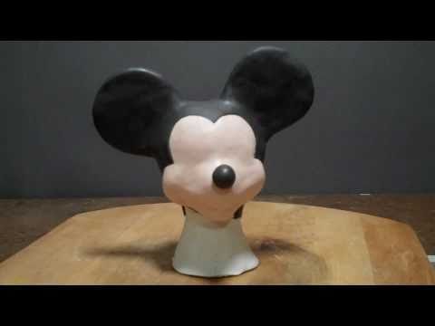 Mickey Mouse sculpture, preview