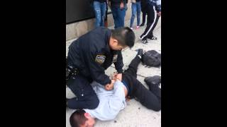 Police Brutality Officer Uses Excessive Force New York