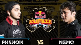 Red Bull Kumite 2017: Phenom vs  Nemo | Top 16