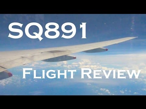 Singapore Airlines SQ891 Flight Review | HKG - SIN (Boeing 777-212ER)