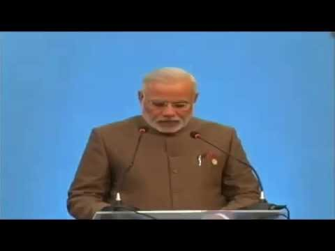 PM Shri Narendra Modi at signing Ceremony & Plenarry Session of BRICS Summit 2014