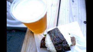 Japanese Steak Sandwich/Burger on Rice