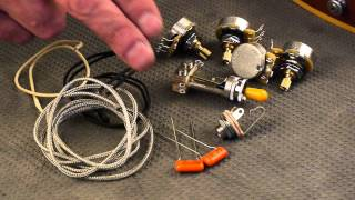 Watch the Trade Secrets Video, Premium guitar wiring for Gibson Les Paul