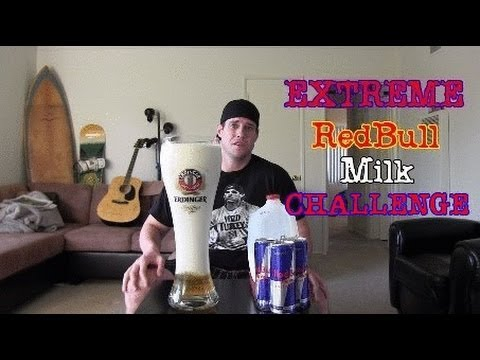 Extreme Redbull and Milk Challenge (Warning: Vomit Alert)