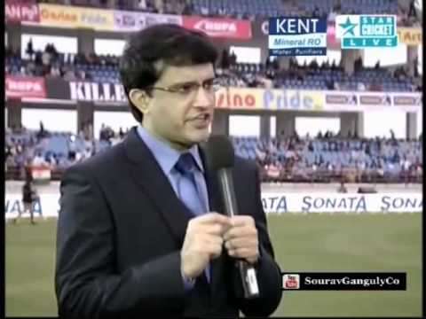 Sourav Ganguly on Sachin Tendulkar Retirement