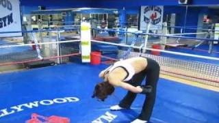 Gym Sparring Girl vs Guy 2