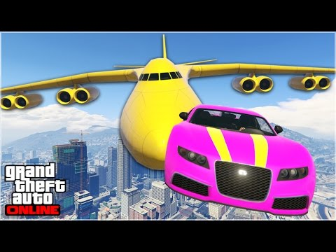 AWESOME GTA 5 STUNTS & FAILS #2 (Funny Moments Compilation)