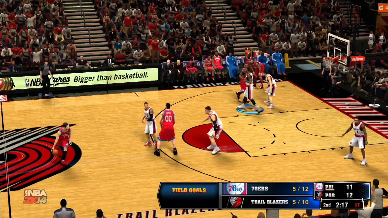 NBA Live 14  Knicks vs Cavaliers  Full Game  PS4  YouTube