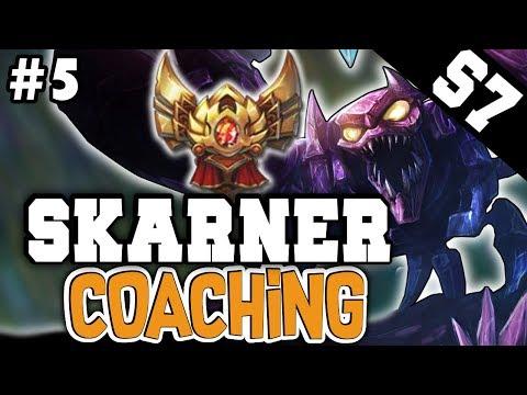 (LoL Coaching #5) SKARNER JUNGLE COACHING GUIDE (Gold 1) - League of Legends Coaching [Season 7]