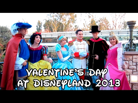 "Valentine's Day at Disneyland 2013, Since my Valentine's Day adventures were so popular last year, I went around Disneyland again interviewing characters for ""True Love Week."" I did my best to ..."