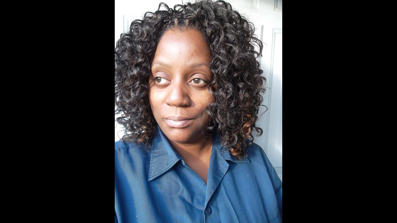 Crochet Braids Presto Curl : Crochet Braids with Freetress Presto Curl
