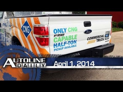 Driving Impressions: CNG Ford F-150 - Autoline Daily 1346