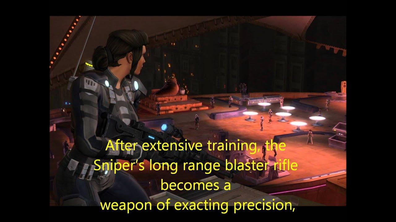 Sniper Build Swtor Pve