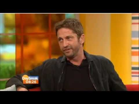 Gerard Butler on ITV Daybreak (April 2013)