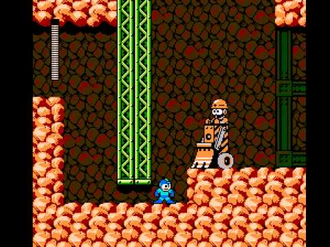 Mega Man 3 - Mega Man 3 Stage: Hard Man - User video