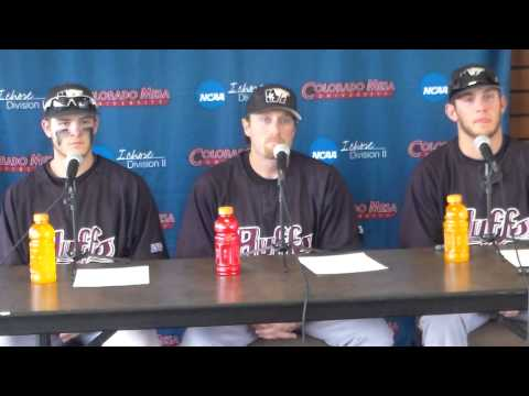 West Texas A&M NCAA Baseball Post Game