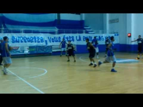Ezzahra Basket vs Club Zintan Libya 13/12/2013 ( Radio Ezzahra Fm )