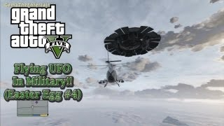 ★GTA 5 UFO In Military Base!! (EASTER EGG #4/Complete