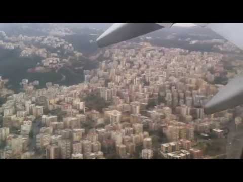 air plane took off from beirut air port