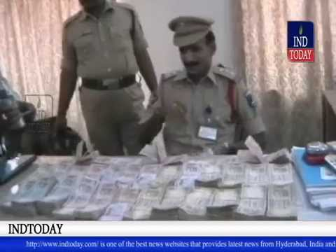 Three held with 21.5 lakhs unaccounted cash