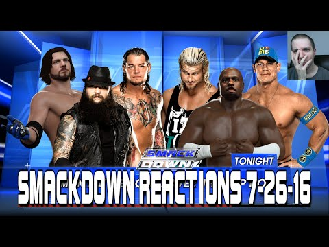 WWE SmackDown Live Reactions 7/26/16