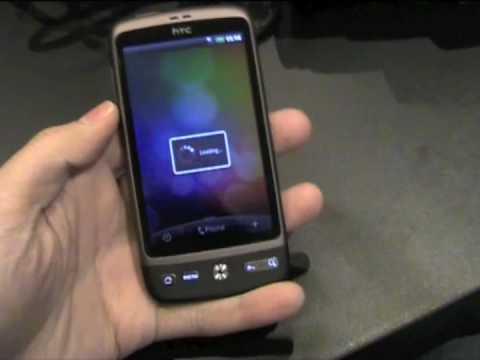 Первый взгляд на HTC Desire