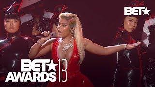 "Nicki Minaj With A Sexy ""Chun-Li"" & ""Rich Sex"" Performance! | BET Awards 2018"