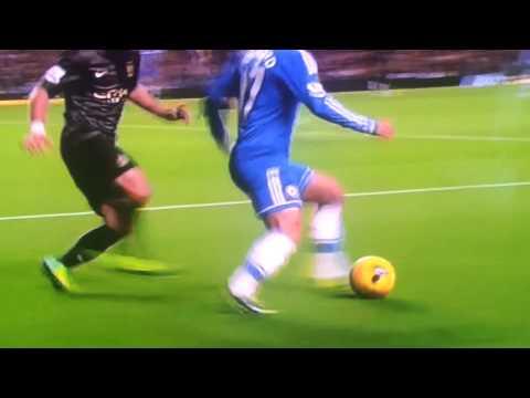 Eden Hazard Humiliates Pablo Zabaleta