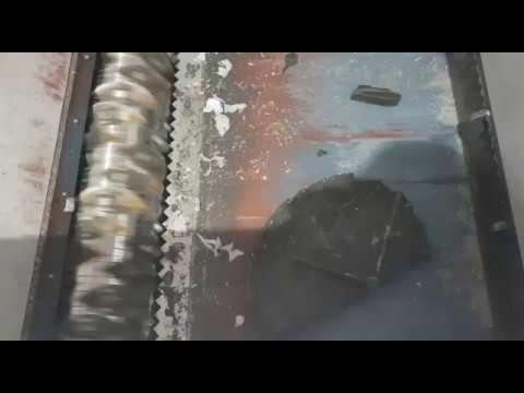 Ecopolymer Shark ES15.2 shreds manhole covers