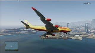 GTA 5 How To Steal A Jumbo Jet