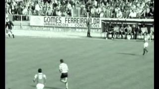 07J :: CUF - 0 x Sporting - 3 em 1973/1974, algumas imagens do jogo
