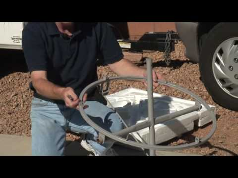Tips on how to assemble the Parabolic Solar Cooker.