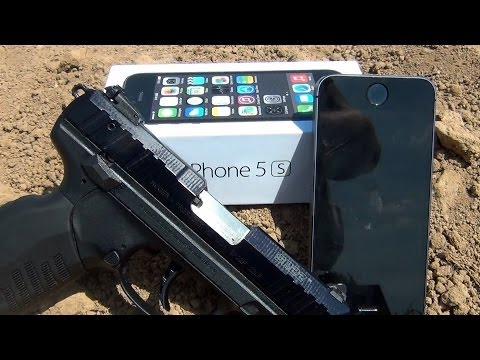 CAN AN IPhone 5s SAVE YOUR LIFE? IPhone 5s VS .22lr.
