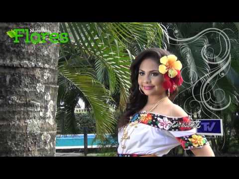 Nuestras Flores - Embajadora de Jalpa de Méndez 2014, Carla Regina Peralta Leyva