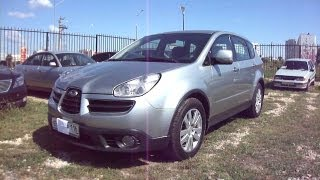2007 Subaru Tribeca B9.Start Up, Engine, and In Depth Tour. videos
