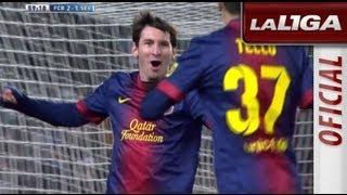 Gol De Messi (2-1) En El FC Barcelona Sevilla FC HD