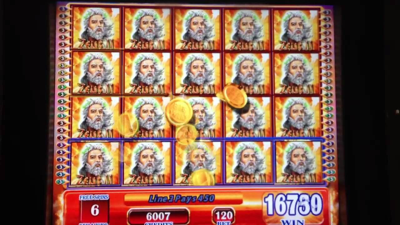 slot machines zeus ii