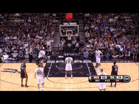 Kawhi Leonard Full Highlights Spurs vs Heat (3/6/2014) 11 Pts, 5 Reb, 5 Stl - Project Spurs