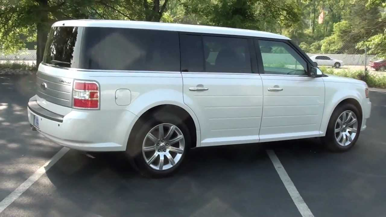 For sale 2009 ford flex limited 1 owner stk p6190 www