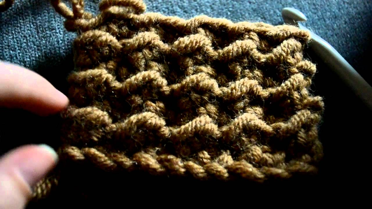 Different Crochet Stitches Youtube : Basic Crochet Lessons - How to make the Moss Stitch - Part 2 - YouTube