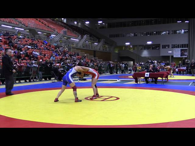 2014 Senior National Championships: 48 kg Madison Parks vs. Coralee Dixon