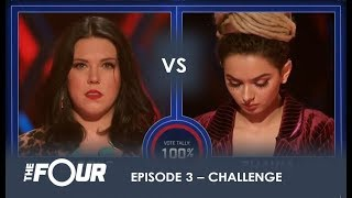 Nicole vs Zhavia: The First REAL Challenge For Zhavia Will She Survive? | S1E3 | The Four