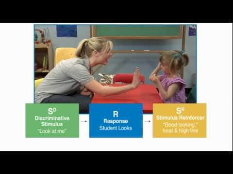Discrete Trial Teaching - Autism Therapy Video