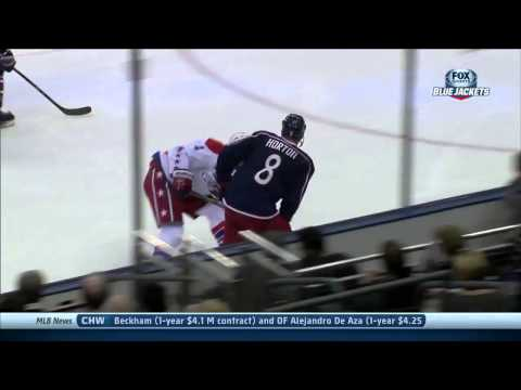 Mark Letestu Goal : Washington Capitals v Columbus Blue Jackets : January 17 2014