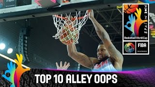 Top 10 Alley Oops - 2014 FIBA Basketball World Cup