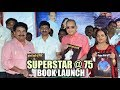 Superstar @ 75 book launch..
