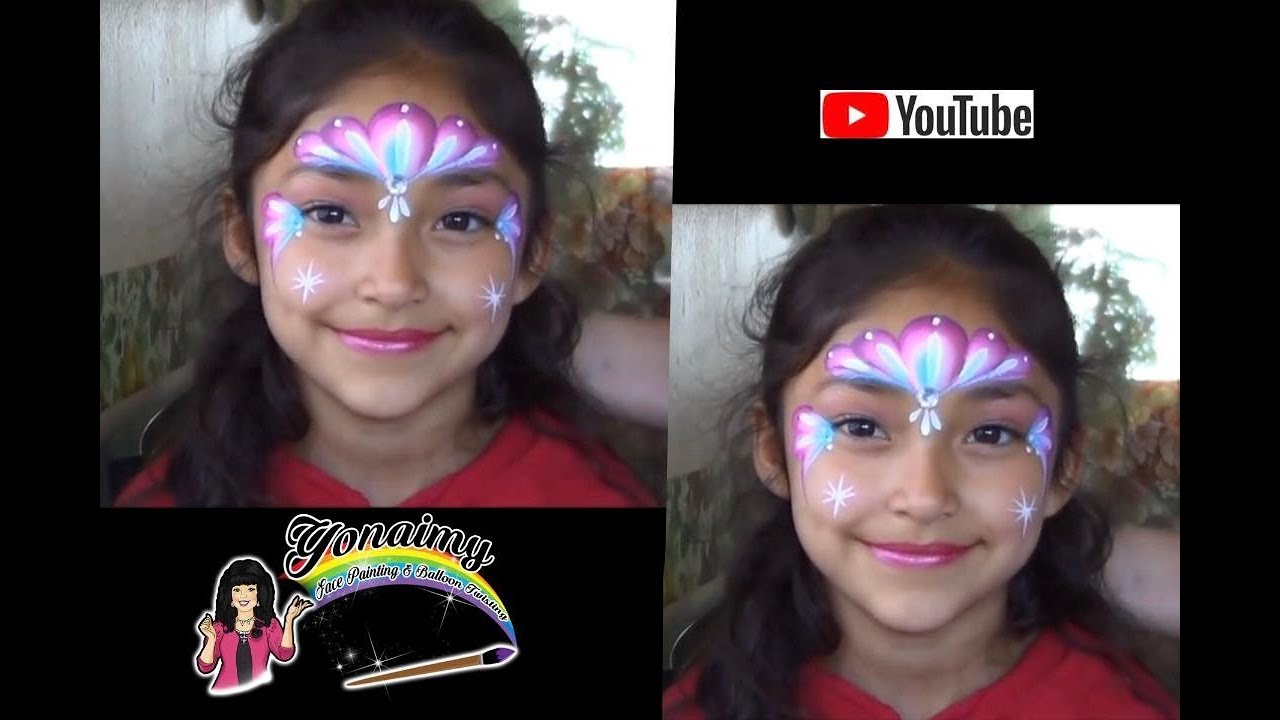 All comments on DISEÑO FACIL PARA NIÑAS .- PINTACARITAS . - YouTube