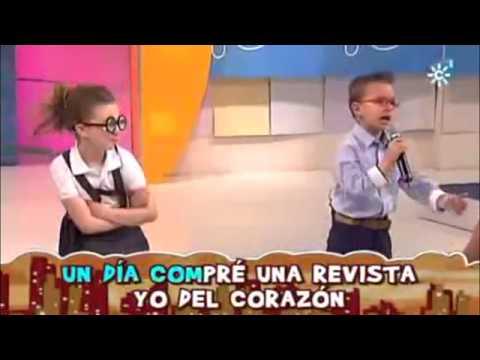 Niño pequeño le canta a terelu(impresionante)