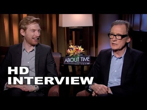 About Time: Domhnall Gleeson & Bill Nighy Official Movie Interview